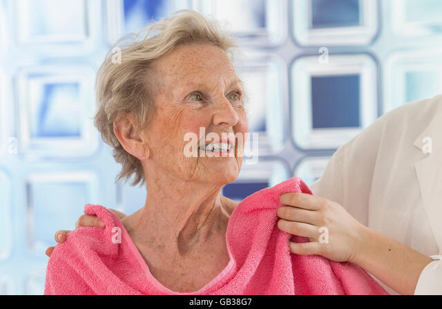 Woman And Shower Curtain Stock Photos Amp Woman And Shower