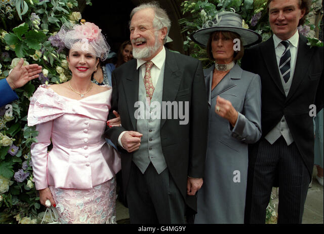 Wedding/Annabel Goldsmith - Stock Image
