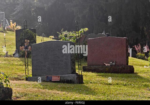 Garden Flags Cemetery