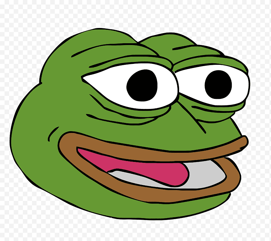 Pepe The Frog Internet Meme Happiness Frog Love Animals Smiley