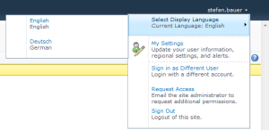 Default MUI Selector in SharePoint 2010