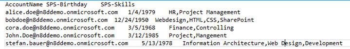 sample import file for bulk update