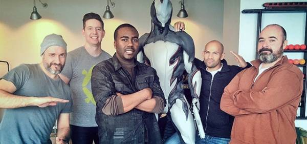 Warframe Mogamu Visits Digital Extremes