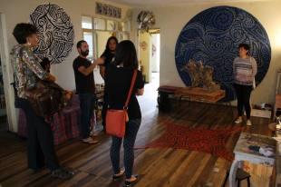 Visita al taller del artista Pablo Gamboa