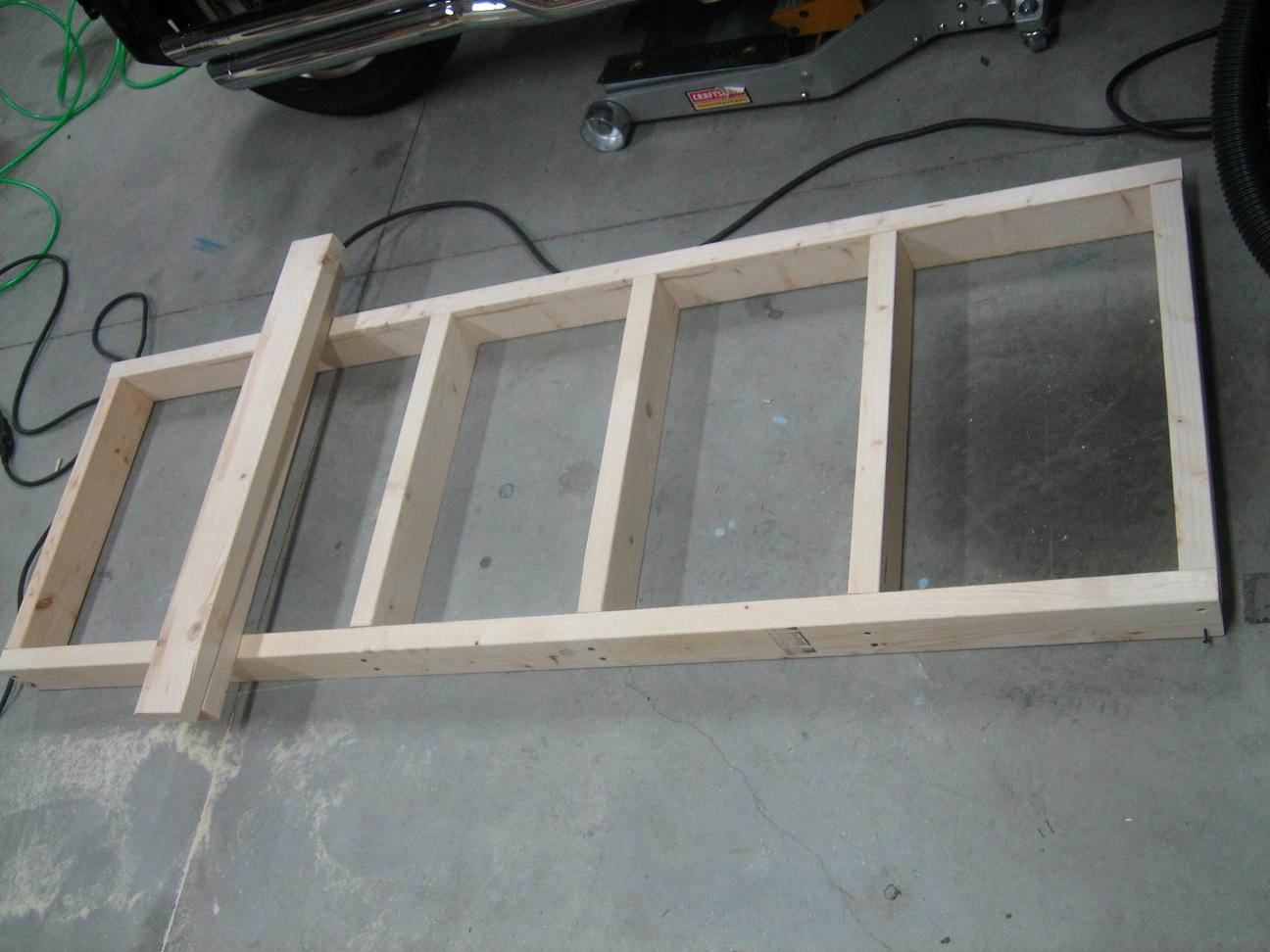 Workbench Construction 013