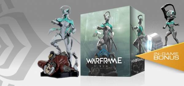 Warframe NYX LIMITED EDITION COLLECTORS STATUE