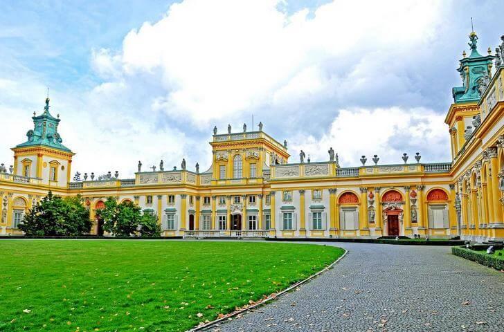 Вилянувский дворец фото