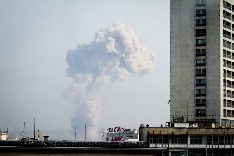 Взрыв на складе боеприпасов в конго