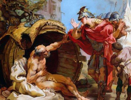 Бочка Диогена - значение и происхождение фразеологизма
