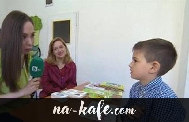 """""""Българче чудо – на 6 години говори английски, чете, пише и смята"""