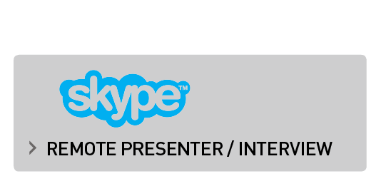 AV-HLC100 Skype TX Integration Feature