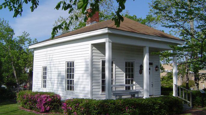 The Pelletier house, the oldest standing structure in Jacksonville, NC