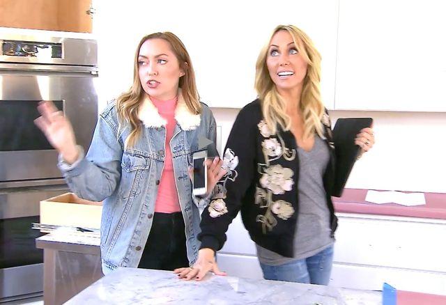 Brandi and Tish make plans