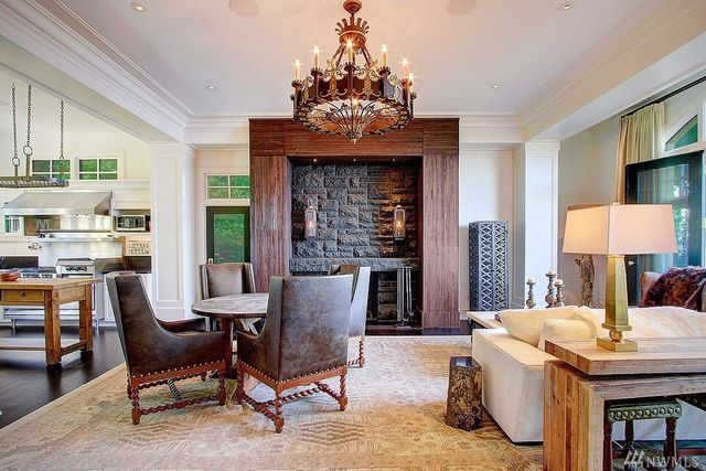 Elegant family room