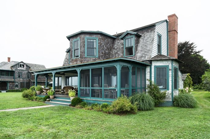 Schuyler Grant's cottage on Long Island Sound in Fenwick, Conn., built in 1868, has been in her family for three generations.