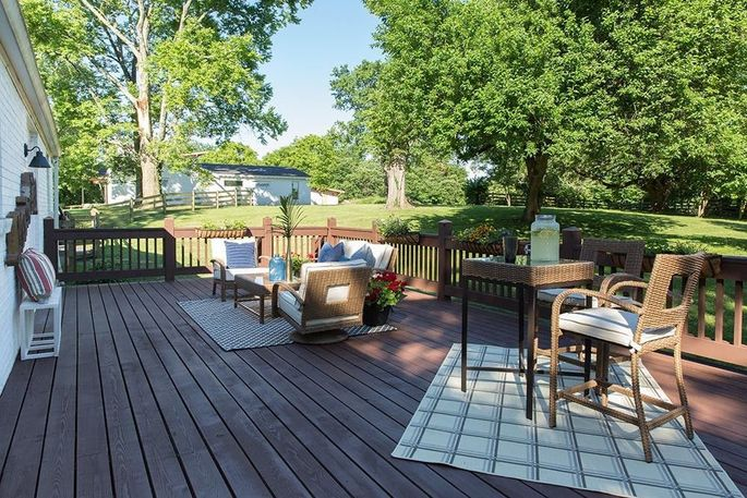 Expanded deck