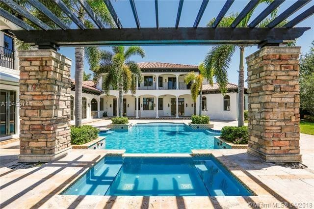 Pool and patio space