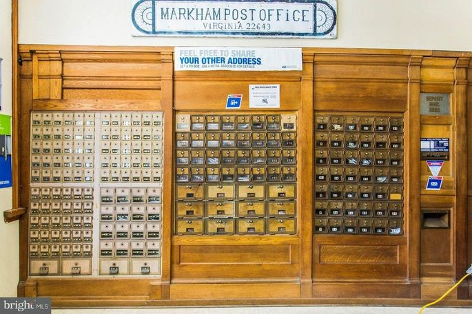 No really, it's a bona fide post office.