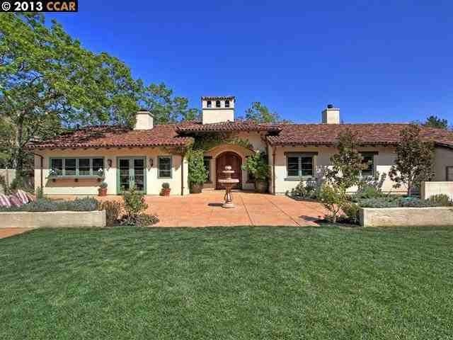 Former Orinda, CA, home of Stephen Curry.