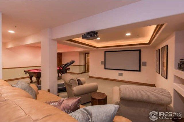 Large basement playroom
