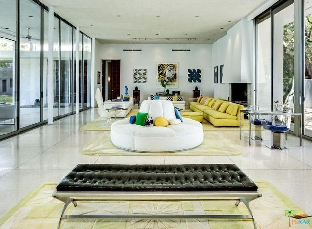 60-foot long living room