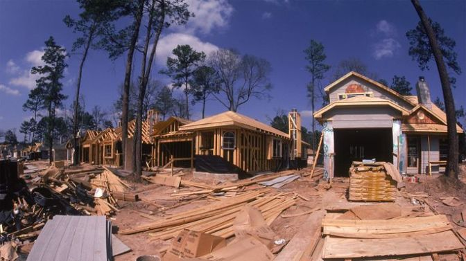 Home construction in Houston, TX
