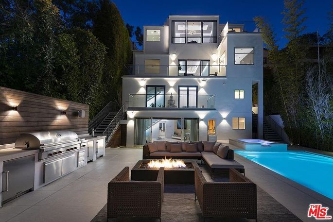 Mel B's Hollywood Hills home