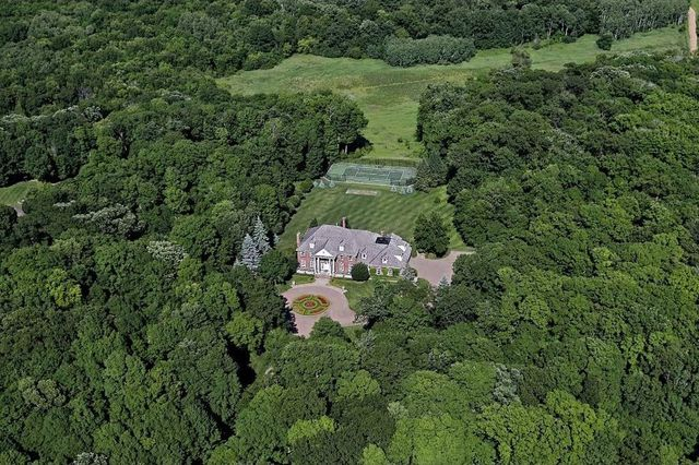 Bird's eye view of the Greg Lamond estate
