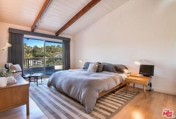 Master suite with outdoor access