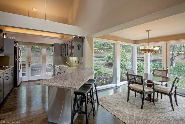 Kitchen with casual dining