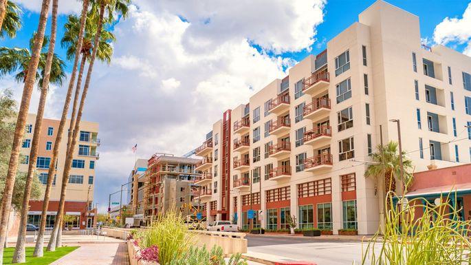 New apartments in downtown Tucson, AZ