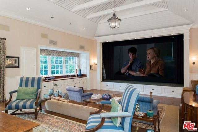 Jerry and Janet Zucker's custom home theater