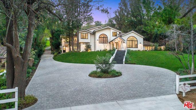 Miley Cyrus' home in Hidden Hills, CA