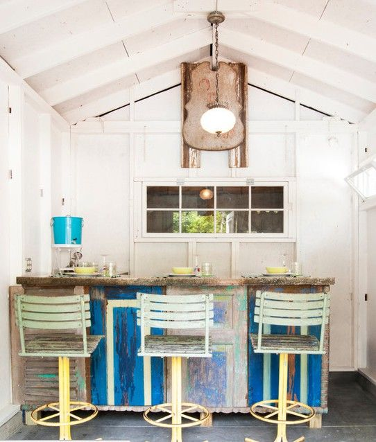 Even a simple, rustic bar shed will be a major draw.