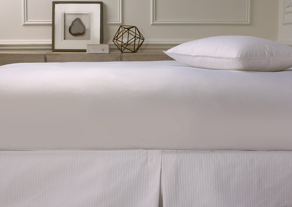 Drap Housse Satin Blanc Acheter Linge De Lit Luxe Hotel Sofitel