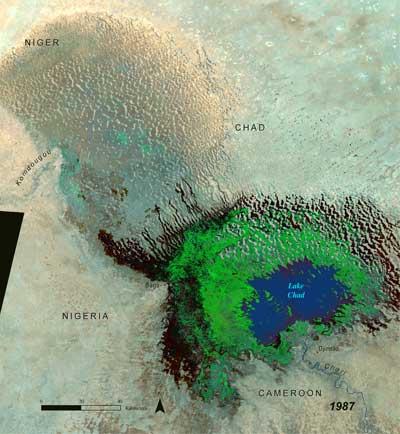 Tchadsjön 1987