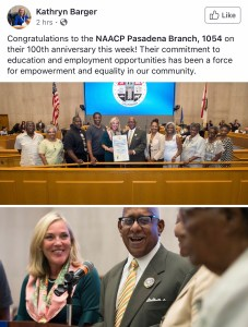 100th Anniversary Recognition