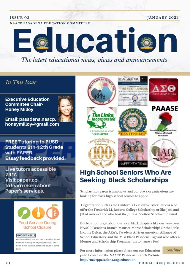 January Educational Newsletter