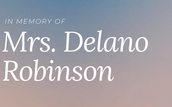 Delano Robinson Memorial fund