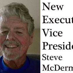 Steve McDermott is Our New Executive VP