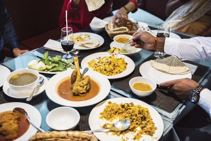 Festive Indian Food