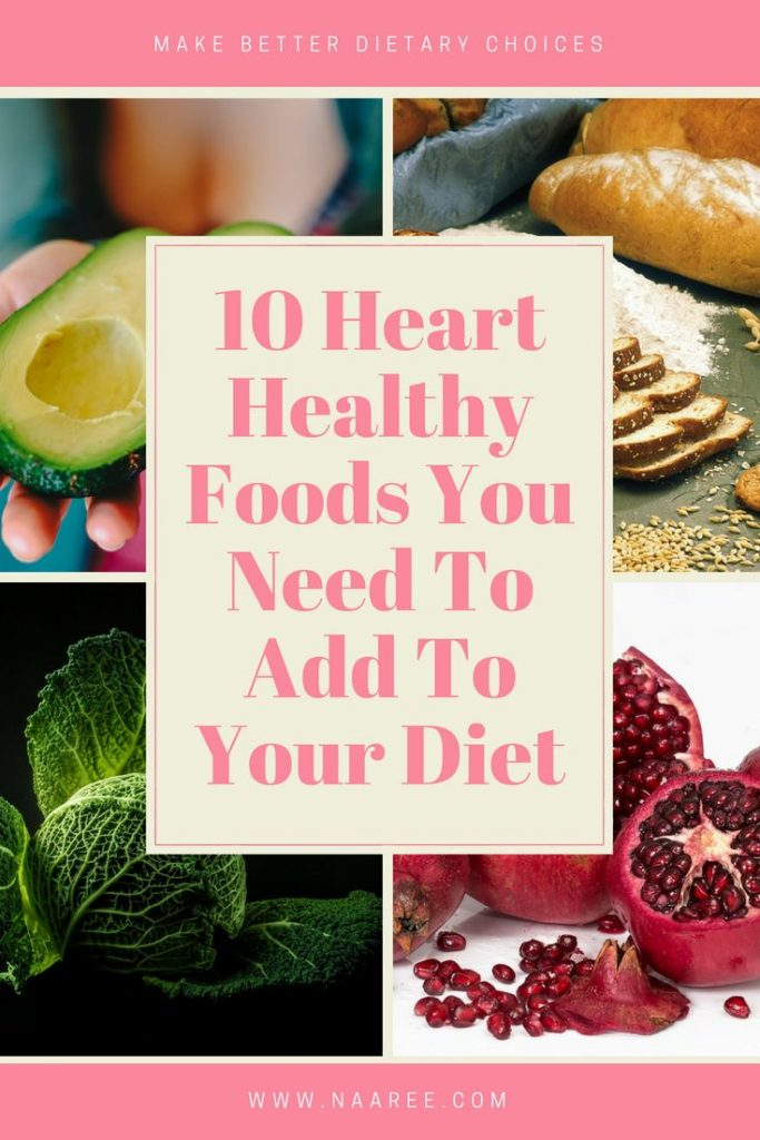 A List Of Heart Healthy Foods