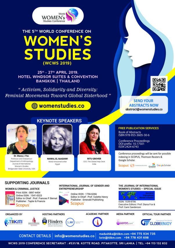 The 5th World Conference On Women's Studies 2019 (WCWS 2019)