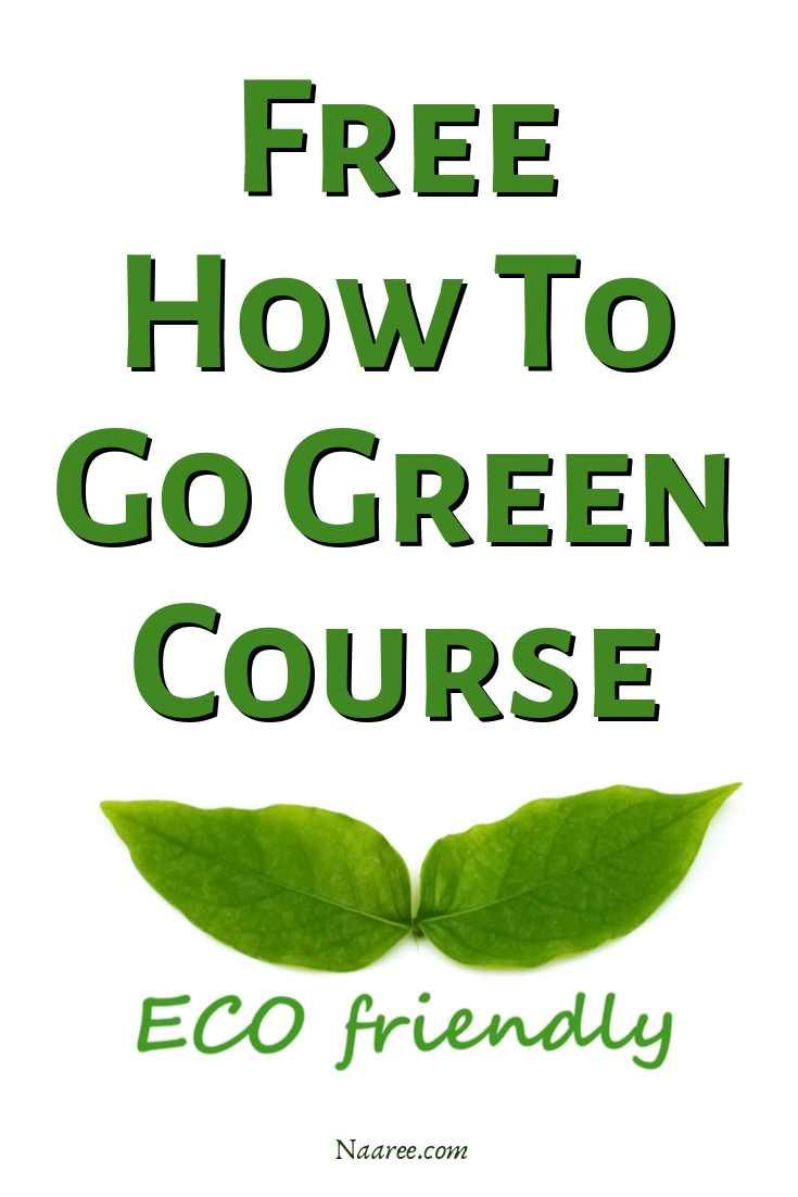 Go Green Tips