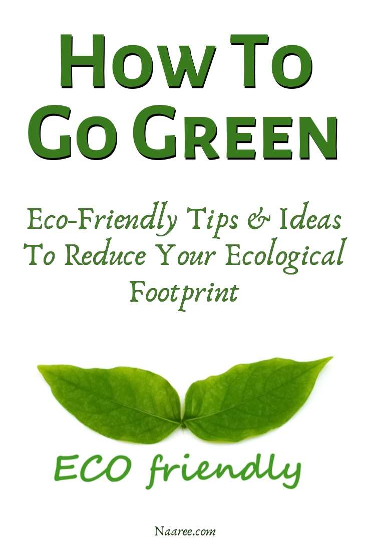 How To Go Green