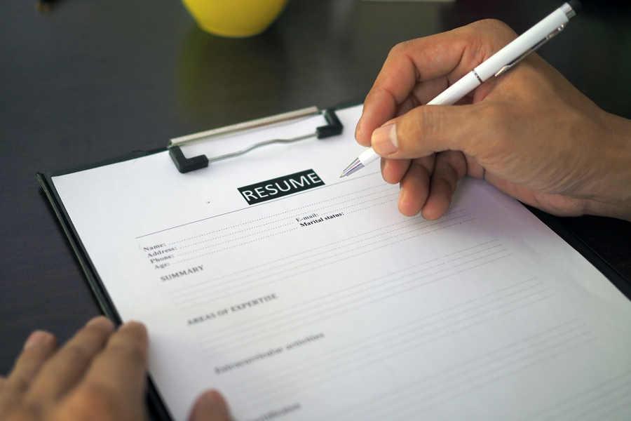 Resume Writing Format