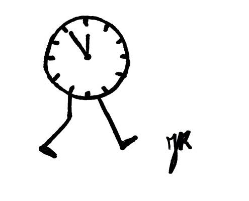 Met de tijd mee