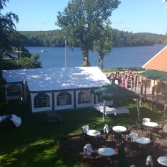 Lokaler - Båthuset med tält