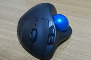 ロジクールトラックボールマウス m570t