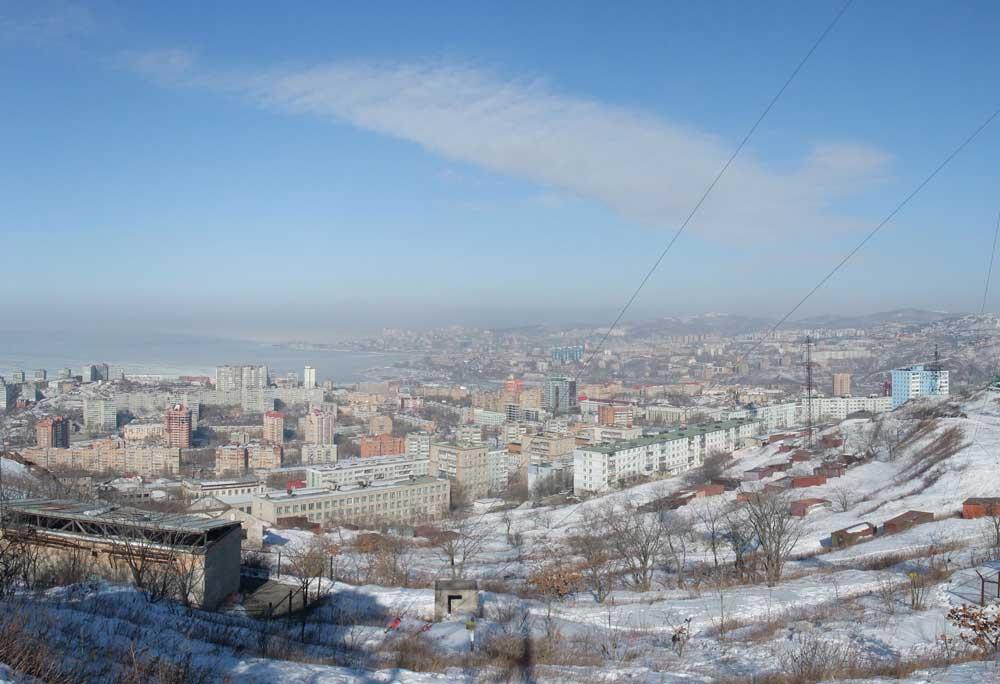 Панорама Владивостока 1